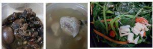 Tian wei confinement food