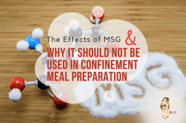 The Effects of MSG and Why It Should Not Be Used in Confinement Meal Preparation
