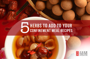 traditional Chinese confinement food recipes