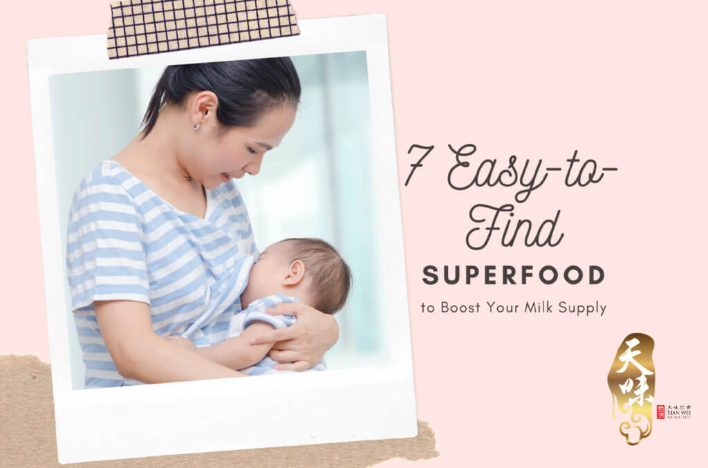 7 easy to find superfoods to boost your milk supply