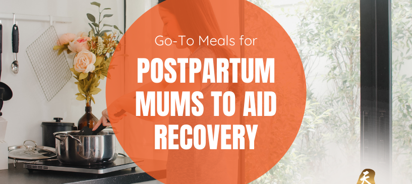 Postpartum Mums to Aid Recovery