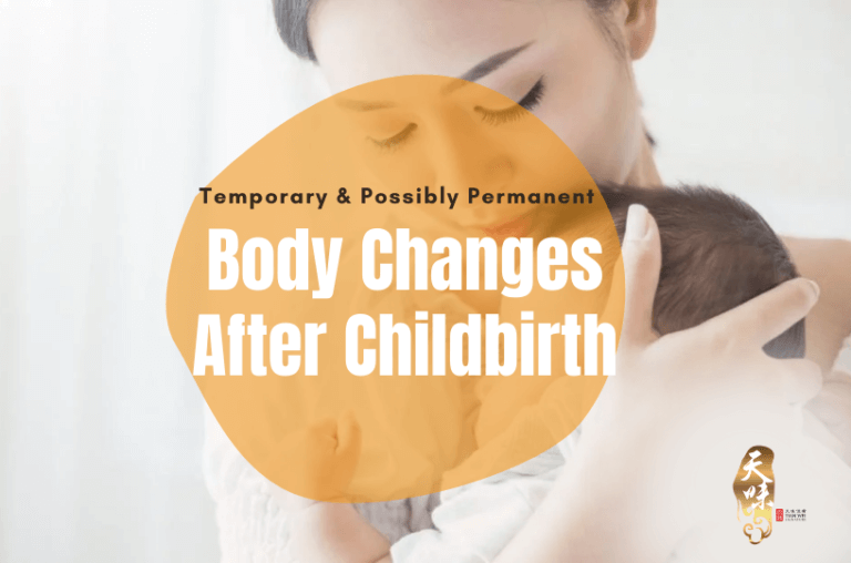 Temporary Possibly Permanent Body Changes After Childbirth