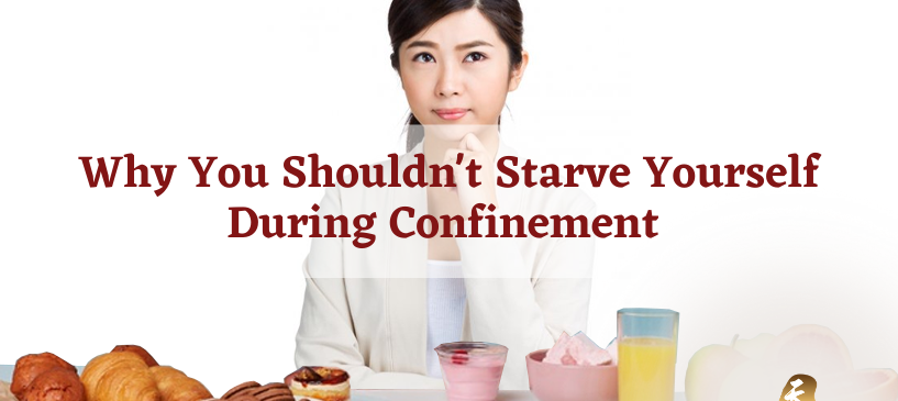Shouldn't Starve Yourself During Confinement
